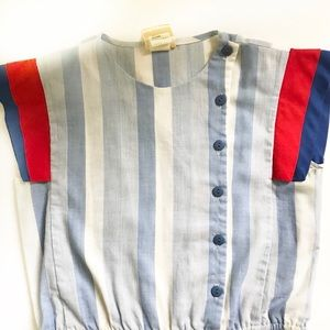 Vintage jumpsuit size small 4th of July